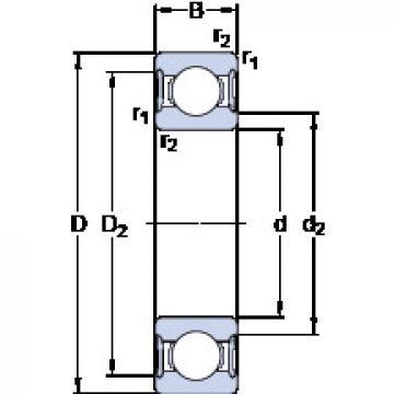Bearing 61904-2RS1 SKF
